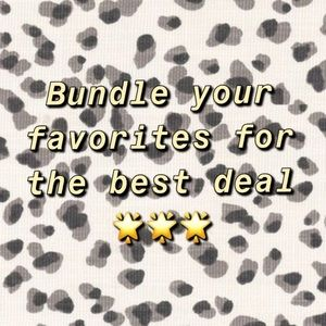 Other - Treat yourself! Bundle all your favs 🌟